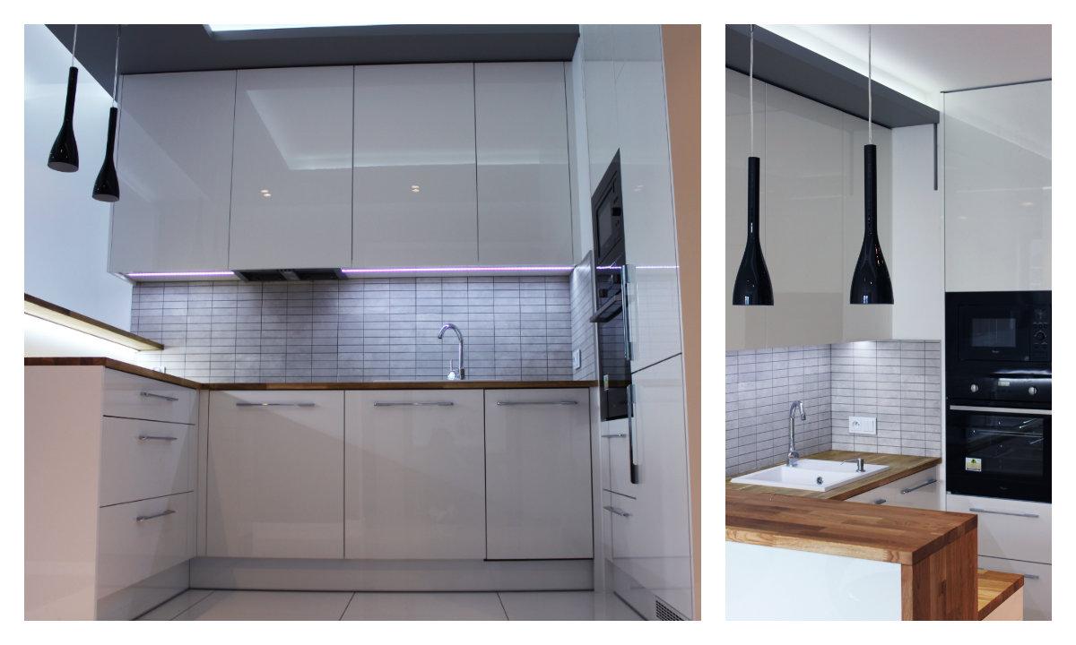 kuchnie na wymiar akryl