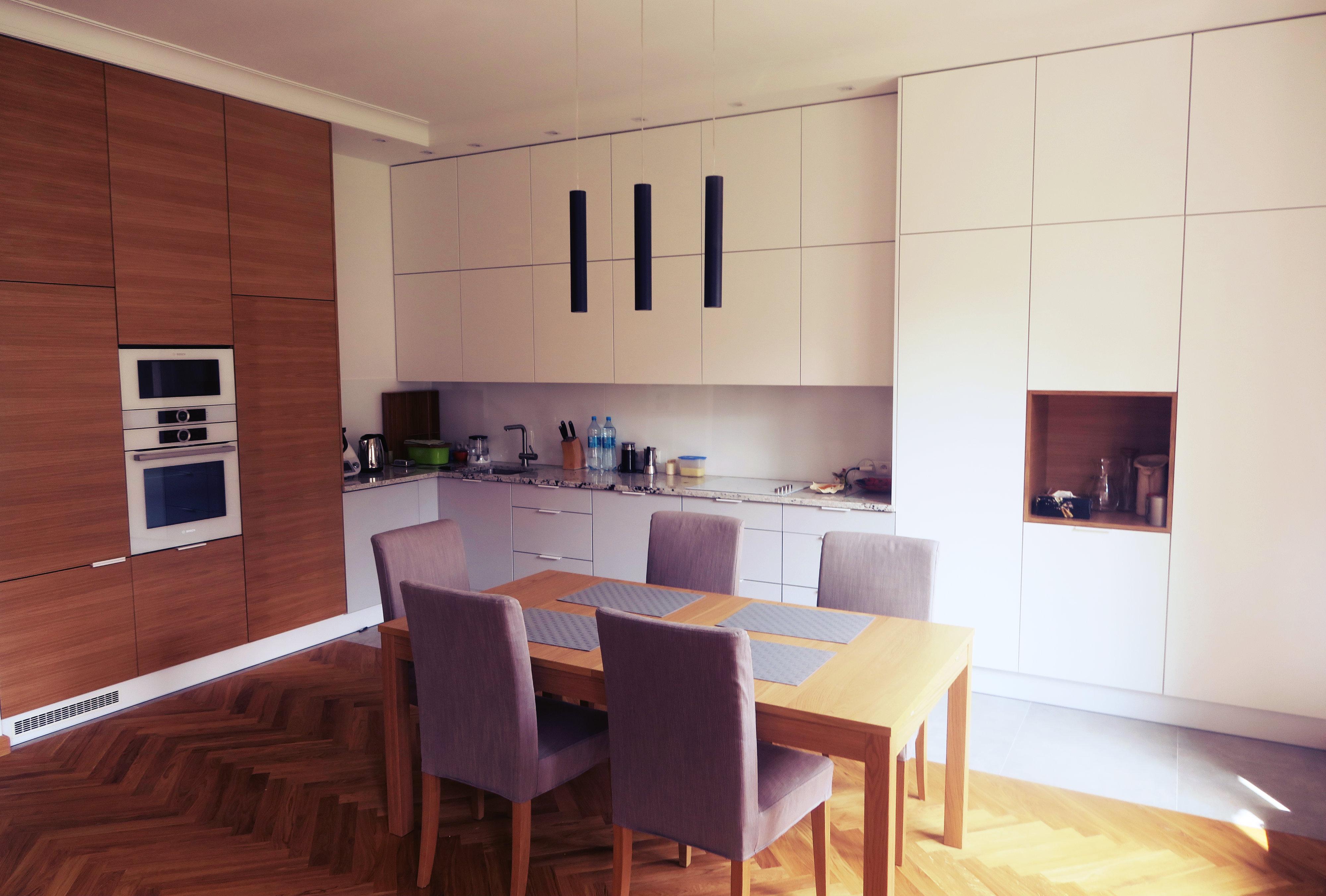 Kuchnia na wymiar lakier fornir  Szafa ze zdjęciem -> Kuchnia Fornir Lakier